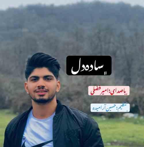 Amir Fazli Sade Del دانلود آهنگ امیر فضلی ساده دل